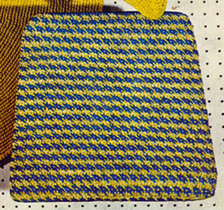 Tweed Chair Seat Cover Pattern Free Crochet Pattern