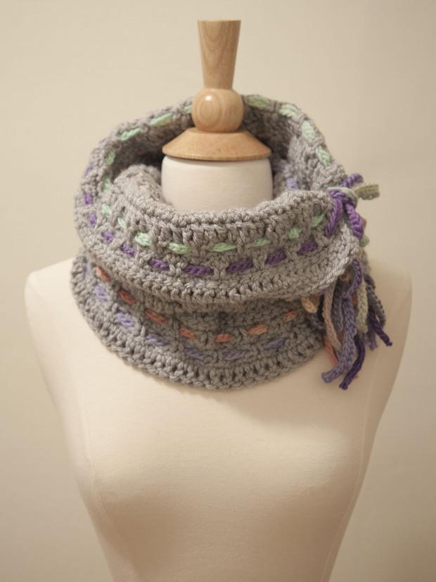 Braided Cowl ~ FREE Crochet Pattern