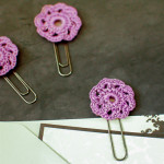Flower Paper Clips ~ Petals to Picots