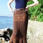 Crochet Maxi Skirt ~ Jane Green – Beautiful Crochet Stuff
