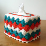 Catherine Wheel Tissue Box Cover ~ Stitch of Love