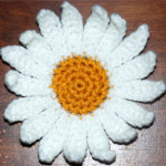 Crochet Daisy Flower ~ Amy - Crochet Jewel