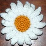 Crochet Daisy Flower ~ Amy – Crochet Jewel