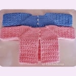 A Star is Born Newborn Crochet Cardigan ~ Free Crochet Patterns and Designs by LisaAuch