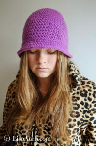 Womans Bucket Hat ~ Free Crochet Patterns and Designs by LisaAuch