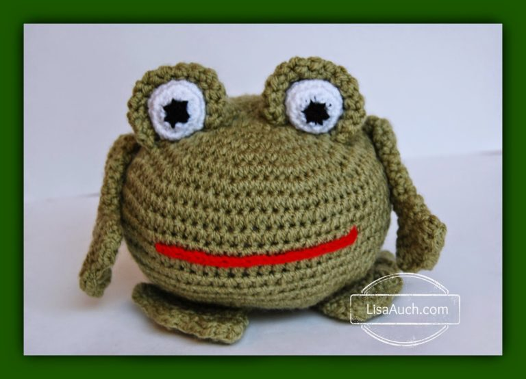 Free Crochet Patterns Directory : Amigurumi Crochet Frog ~ FREE Crochet Pattern