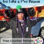 Go Like A Pro Beanie ~ Snappy Tots