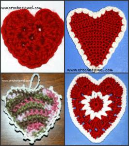 Crochet Hearts ~ Amy - Crochet Jewel