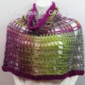 Spring Fling Poncho ~ Goddess Crochet - The Stitchin' Mommy