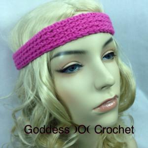 Simple Sunday Headband ~ Goddess Crochet