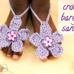 Barefoot Flower Sandals ~ Stacey Williams – Repeat Crafter Me