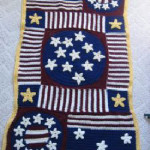 Large Stars and Stripes Afghan ~ Donna's Crochet Designs