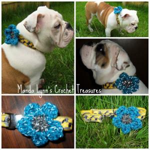 Reflect a Flower Collar ~ Manda Proell - MandaLynn's Crochet Treasures