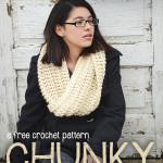 Chunky Ribbed Cowl ~ Rebecca Langford – Little Monkeys Crochet