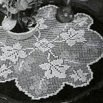 Grape Arbor Doily ~ Free Vintage Crochet