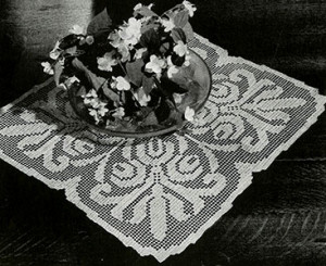 Manor House Doily ~ FREE Vintage Crochet