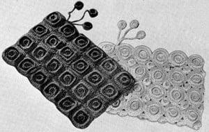 Bag Pattern No. 2349 ~ Free Vintage Crochet