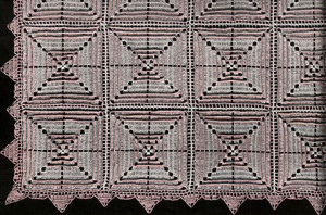 Ridged Square Bedspread No. 207 ~ Free Vintage Crochet