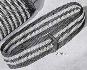 Belt Pattern No. 2262 ~ Free Vintage Crochet
