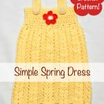 Simple Spring Dress ~ Stacey Williams – My Merry Messy Life