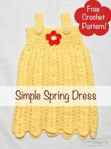 Simple Spring Dress ~ Stacey Williams - My Merry Messy Life
