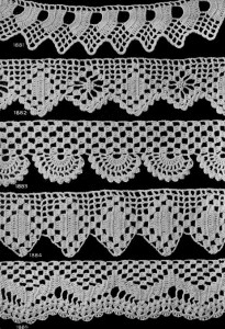 Edging Patterns for Many Uses ~ Free Vintage Crochet