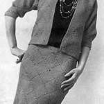 Motif Suit Pattern ~ Free Vintage Crochet
