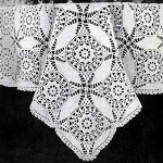 Cathedral Window Tablecloth ~ Free Vintage Crochet