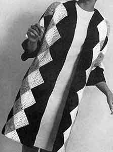 Harlequin Coat ~ Free Vintage Crochet