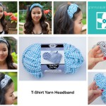T-Shirt Yarn Headband ~ Grannysquaredontcare