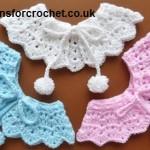 Pretty Collar ~ Patterns For Crochet