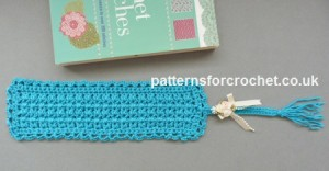 Tasseled Bookmark ~ Patterns For Crochet