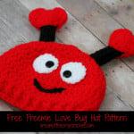 Preemie Love Bug Hat ~ Cream Of The Crop Crochet