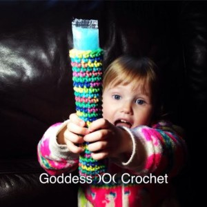Freeze Pop Cozy ~ Goddess Crochet
