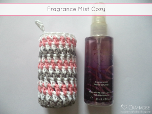 Fragrance Mist Cozy ~ The Stitchin' Mommy