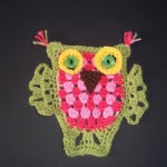 Granny Stripe Owl ~ Lucy 'In the Sky'