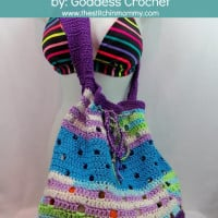 Hip Squares Beach Tote ~ Goddess Crochet – The Stitchin' Mommy