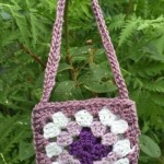 American Girl Doll Granny Square Bag ~ ABC Knitting Patterns