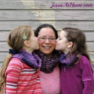 Mommy and Me Infinite Twilight Cowls ~ Jessie At Home