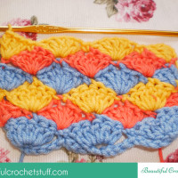 How to Make the Shell Stitch ~ Jane Green - Beautiful Crochet Stuff