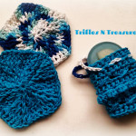 Textured Scrubbies & Soap Saver Pouch ~ Tera Kulling - Trifles N Treasures