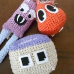 Happy Amigurumi Monsters ~ 2 Crochet Hooks - Oombawka Design
