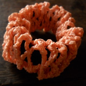 Diamond Mesh Scrunchies ~ MoiraCrochets