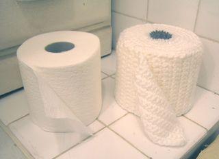 Toilet Paper Cover Free Crochet Pattern