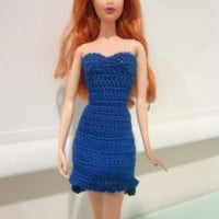 Barbie High Low Cocktail Dress ~ Dezalyx