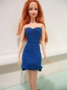 Barbie High Low Cocktail Dress ~ Dezalyx