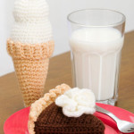Chocolate Pie and Ice Cream ~ Michele Wilcox – Red Heart