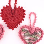 Sweet Heart Sachet ~ Red Heart
