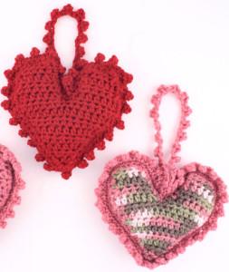 Sweet Heart Sachet ~ Red Heart