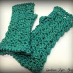 Amazing Grace Fingerless Gloves ~ Beatrice Ryan Designs